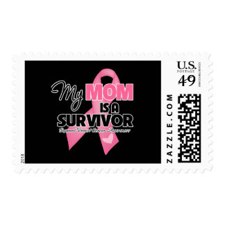 My Mom is a Survivor - Breast Cancer Stamps