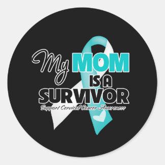 My Mom is a Survivor - Cervical Cancer Sticker