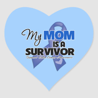 My Mom is a Survivor - Colon Cancer Stickers