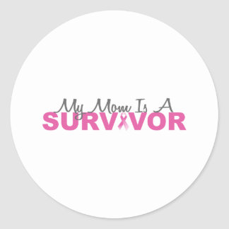 My Mom Is A Survivor Stickers