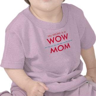 My MOM is a WOW MOM Hooded Kids Shirt