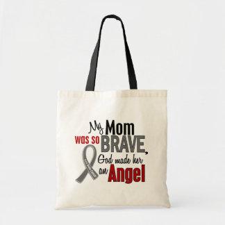 My Mom Is An Angel 1 Brain Cancer Tote Bag