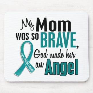 My Mom Is An Angel 1 Ovarian Cancer Mousepads