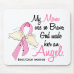 My Mom Is An Angel 2 Breast Cancer Mouse Pad