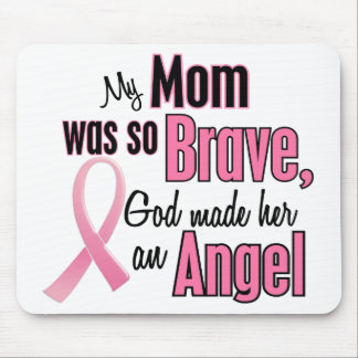 My Mom Is An Angel Breast Cancer Mouse Pad