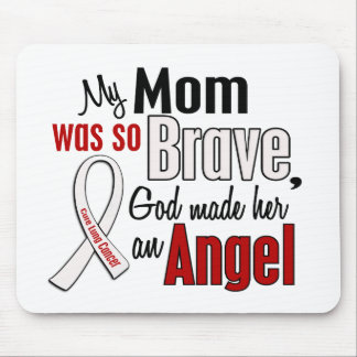 My Mom Is An Angel Lung Cancer Mouse Pad