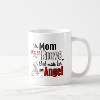 My Mom Is An Angel Lung Cancer Coffee Mug