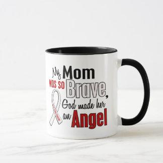 My Mom Is An Angel Lung Cancer Mug