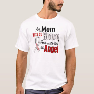 My Mom Is An Angel Lung Cancer T-Shirt
