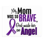 My Mom Is An Angel Pancreatic Cancer Postcard