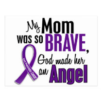 My Mom Is An Angel Pancreatic Cancer Postcard