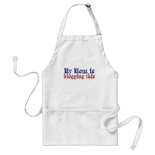 My Mom is Blogging This Adult Apron