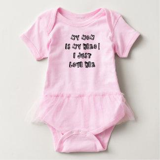 My mom is my hero! I just love her Baby Bodysuit