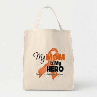 My Mom is My Hero - Leukemia Tote Bag