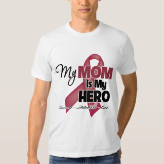 My Mom is My Hero - Multiple Myeloma T-shirt