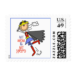 My Mom Is My Hero Postage