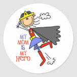My Mom Is My Hero Stickers