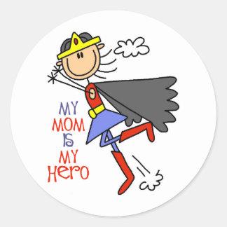 My Mom Is My Hero Stickers