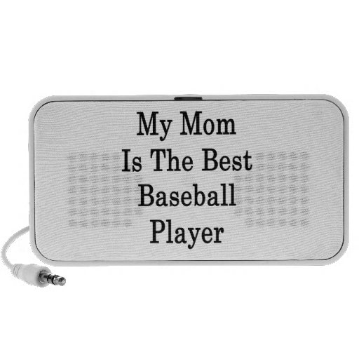 My Mom Is The Best Baseball Player PC Speakers