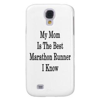 My Mom Is The Best Marathon Runner I Know Galaxy S4 Cover