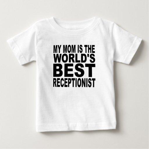 My Mom Is The World's Best Receptionist Tees T-Shirt, Hoodie, Sweatshirt