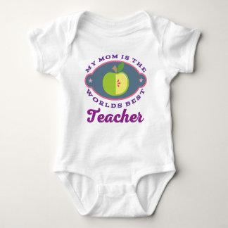 My Mom Is The Worlds Best Teacher childs t-shirt
