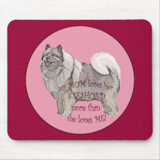 My MOM KEESHOND Mouse Pad
