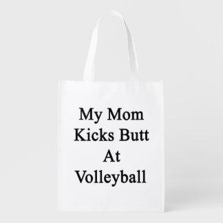 My Mom Kicks Butt At Volleyball Market Tote