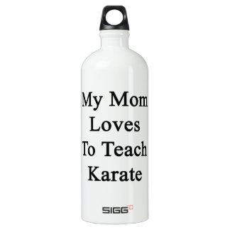 My Mom Loves To Teach Karate SIGG Traveler 1.0L Water Bottle