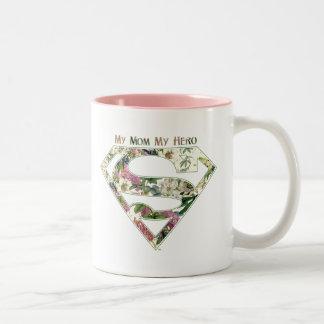 My Mom My Hero Two-Tone Coffee Mug