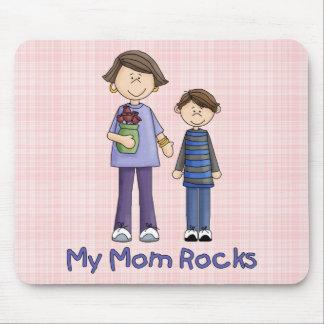 My Mom Rocks 3 Mouse Pad