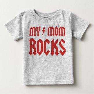 My Mom Rocks! Baby T-Shirt