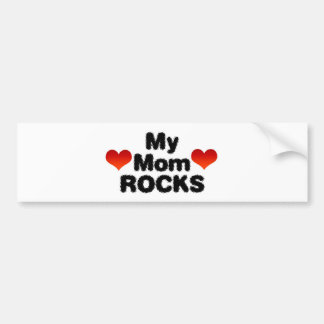 My Mom Rocks Bumper Stickers