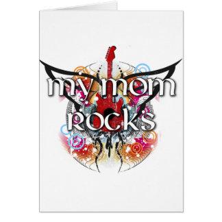 My Mom Rocks Card