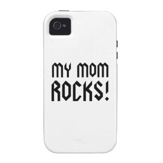 My Mom Rocks Vibe iPhone 4 Case