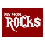 My Mom Rocks Greeting Cards