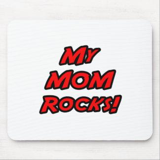 My Mom Rocks Mouse Pad