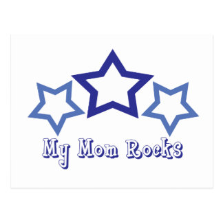 My Mom Rocks Postcard
