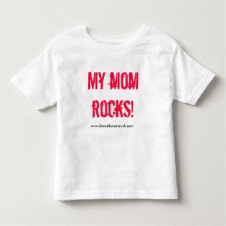 MY MOM ROCKS! T SHIRT