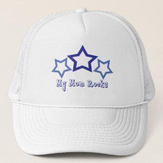My Mom Rocks Trucker Hat