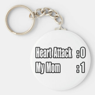 My Mom Survived a Heart Attack Key Chains