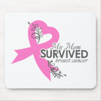 My Mom Survived Breast Cancer Mouse Pad