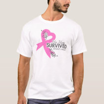My Mom Survived Breast Cancer T-Shirt