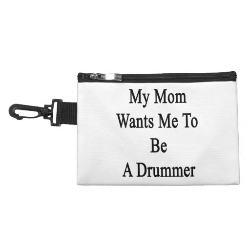 My Mom Wants Me To Be A Drummer Accessories Bags