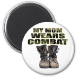 My Mom Wears Combat Boots Fridge Magnet