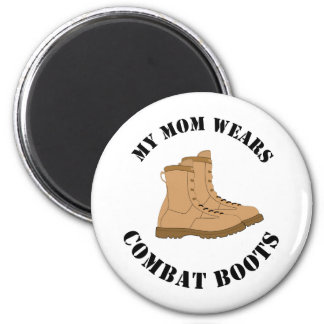 My Mom Wears Combat Boots Magnet