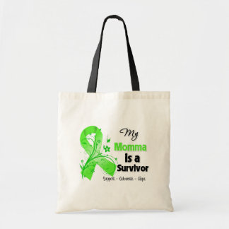 My Momma is a Lymphoma Survivor Budget Tote Bag