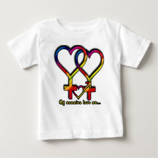 My Mommies Love Me Baby T-Shirt