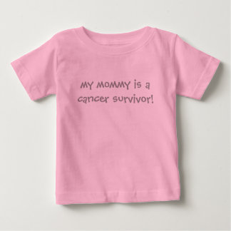 MY MOMMY IS A CANCER SURVIVOR T-SHIRT (PINK)