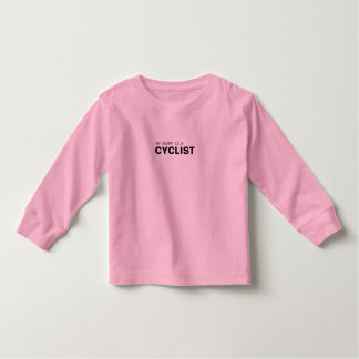 MY MOMMY IS A CYCLIST/BREAST CANCER TODDLER T-SHIRT